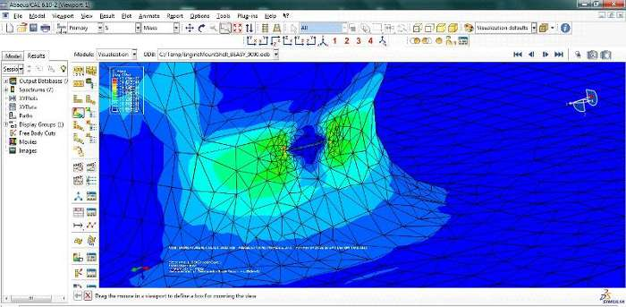 BEASY ABAQUS Model